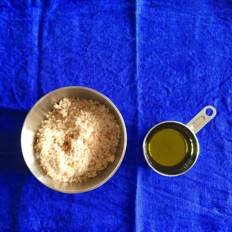かりかりパン粉の材料